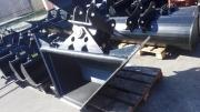 JCB, CAT hidraulikus trapéz profilkanál 40- es